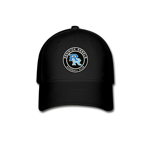 Renwick Rebels Logo Baseball Cap-Customize Me! - black