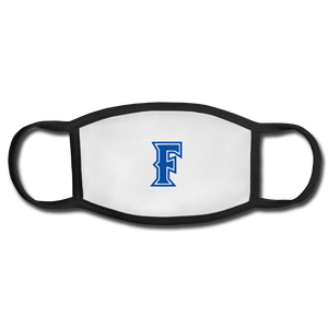 Friendswood Baseball Logo Adult Face Mask - white/black