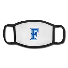 Load image into Gallery viewer, Friendswood Baseball Logo Youth Face Mask - white/black