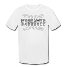 Load image into Gallery viewer, Warhawks Baseball Seams 21 Youth Dri- Fit-Customize Me! - white
