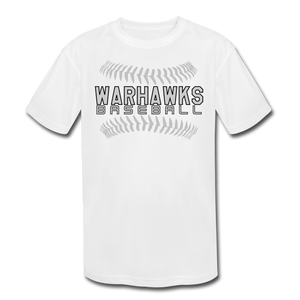 Warhawks Baseball Seams 21 Youth Dri- Fit-Customize Me! - white