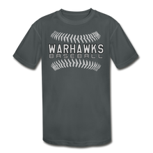 Load image into Gallery viewer, Warhawks Baseball Seams 21 Youth Dri- Fit-Customize Me! - charcoal