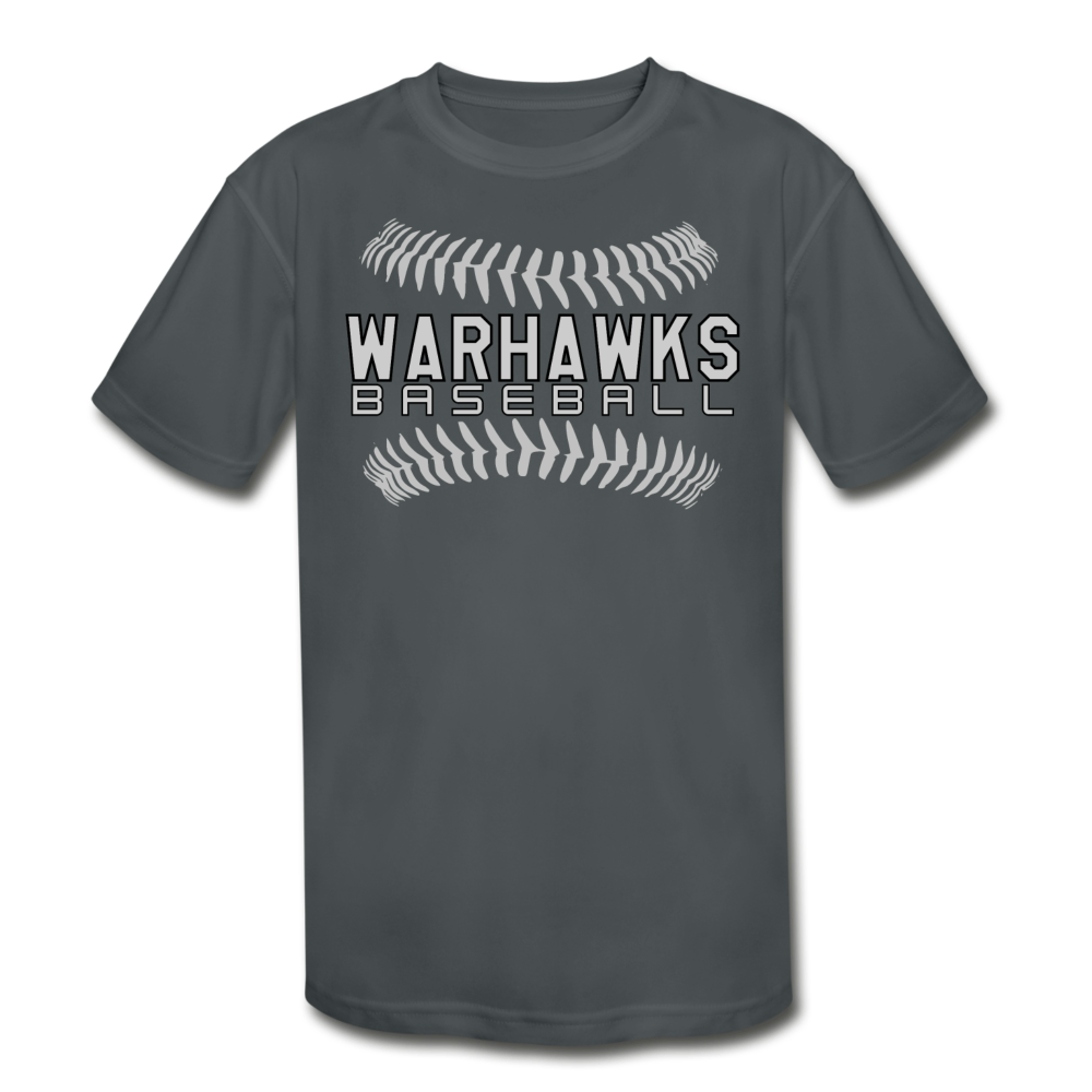 Warhawks Baseball Seams 21 Youth Dri- Fit-Customize Me! - charcoal
