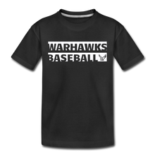 Load image into Gallery viewer, Warhawks Typography Kids' Premium T-Shirt-Customize Me! - black