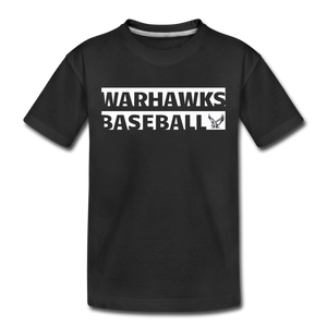 Warhawks Typography Kids' Premium T-Shirt-Customize Me! - black