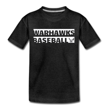 Load image into Gallery viewer, Warhawks Typography Kids' Premium T-Shirt-Customize Me! - charcoal gray