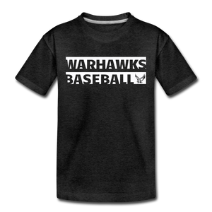 Warhawks Typography Kids' Premium T-Shirt-Customize Me! - charcoal gray
