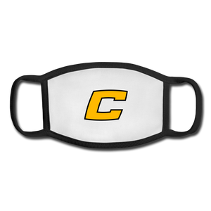 C Youth Face Mask - white/black