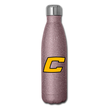 Load image into Gallery viewer, C Insulated Stainless Steel Water Bottle-Customize Me! - pink glitter