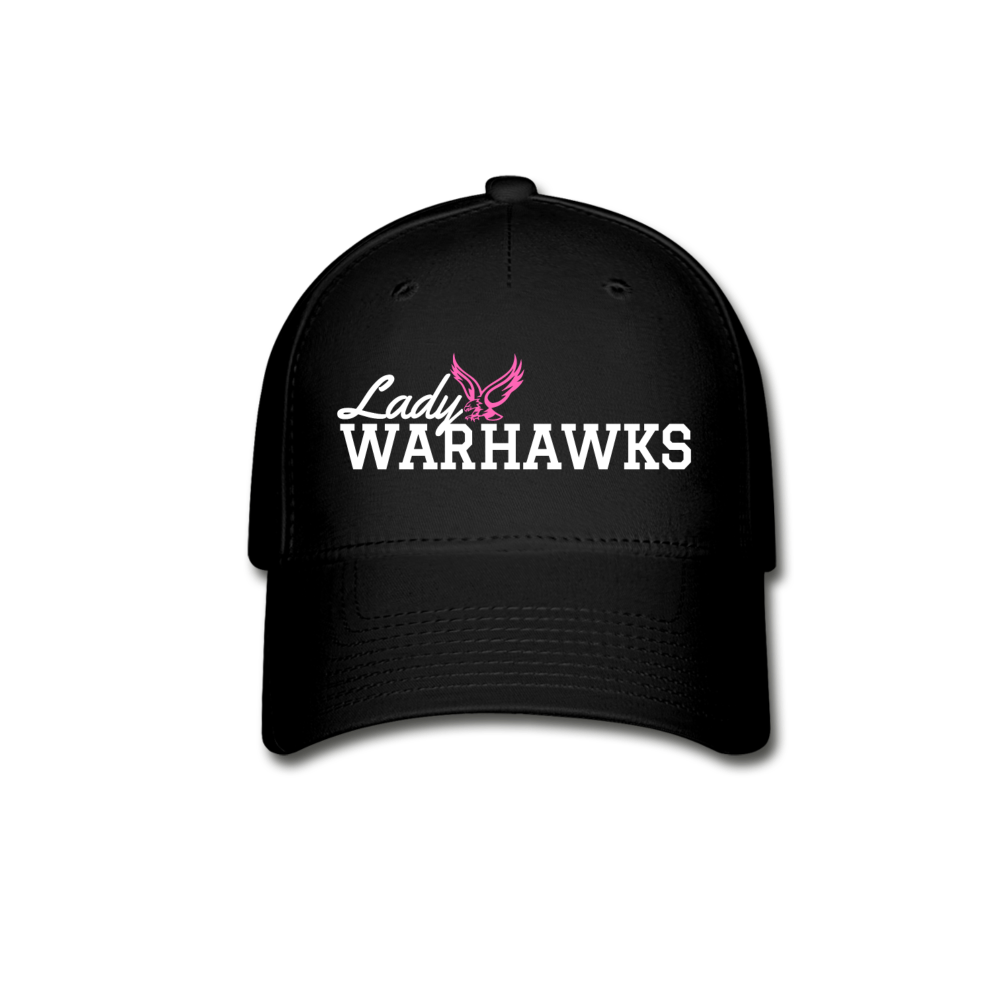 Lady Warhawks Baseball Cap-Customize Me! - black