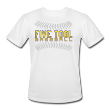 Load image into Gallery viewer, Five Tool Seams Adult Dri-Fit-Customize Me! - white