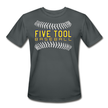 Load image into Gallery viewer, Five Tool Seams Adult Dri-Fit-Customize Me! - charcoal