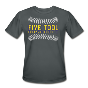 Five Tool Seams Adult Dri-Fit-Customize Me! - charcoal
