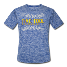Load image into Gallery viewer, Five Tool Seams Adult Dri-Fit-Customize Me! - heather blue