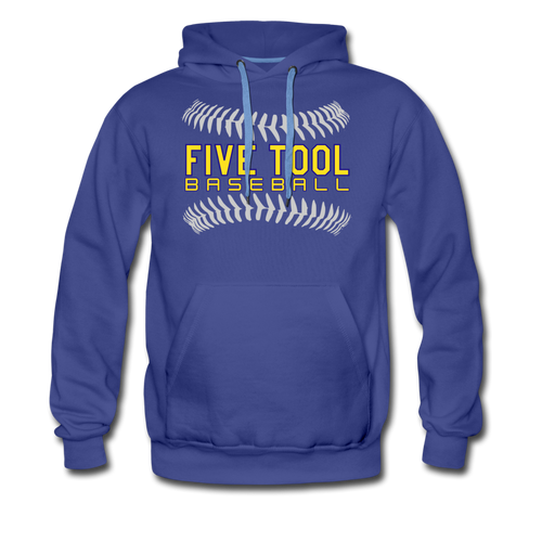 Five Tool Seams Premium Hoodie-Customize Me! - royalblue