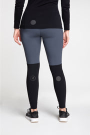 Lillydale Tights - Black/Grey