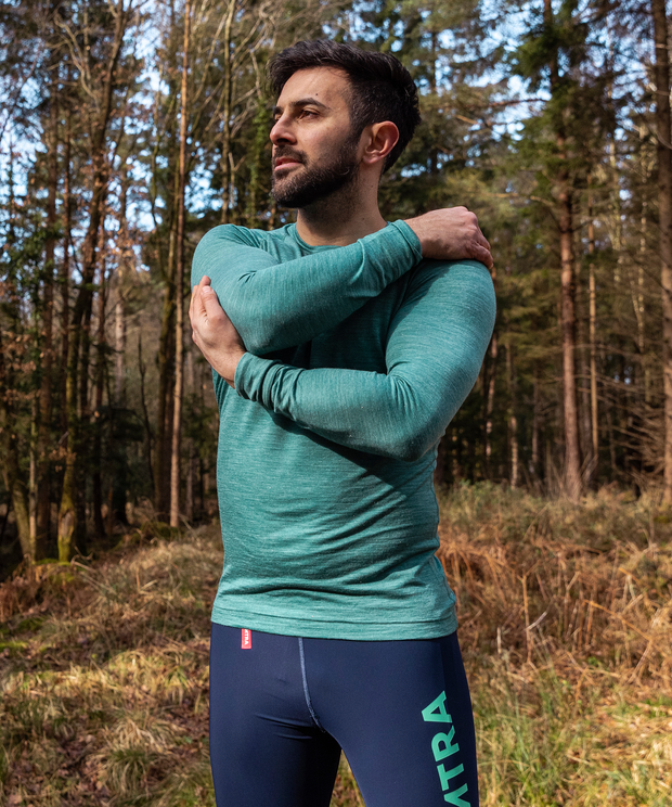 Haga Base Layer - Green Marl
