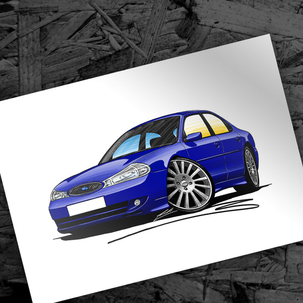 New Caricature - Ford Mondeo ST200