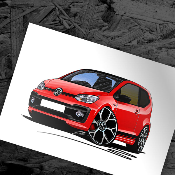 New Caricature - VW Up! GTi