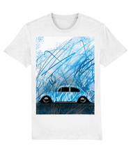 Load image into Gallery viewer, Graffiti Bug-Blue - Car Art T-Shirt