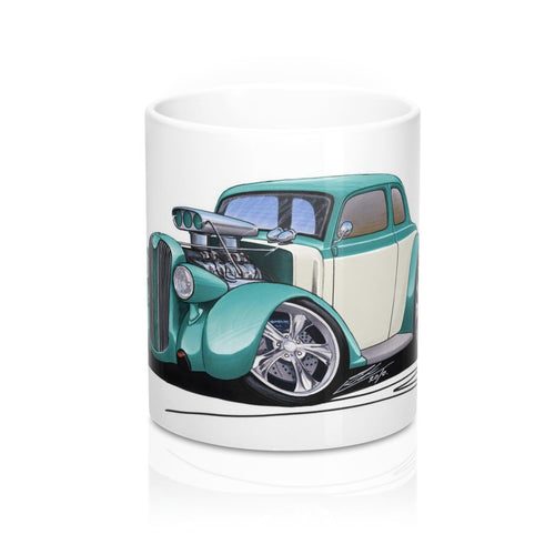 Plymouth Coupe (1936) (Yeo-A) - Caricature Car Art Coffee Mug