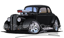 Load image into Gallery viewer, Plymouth Coupe (1936) (Yeo-B) - Caricature Car Art Coffee Mug