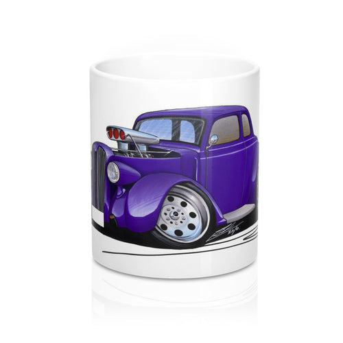 Plymouth Coupe (1936) (Yeo-B) - Caricature Car Art Coffee Mug