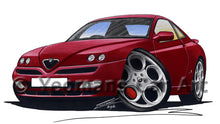 Load image into Gallery viewer, Alfa Romeo GTV - Caricature Car Art Print