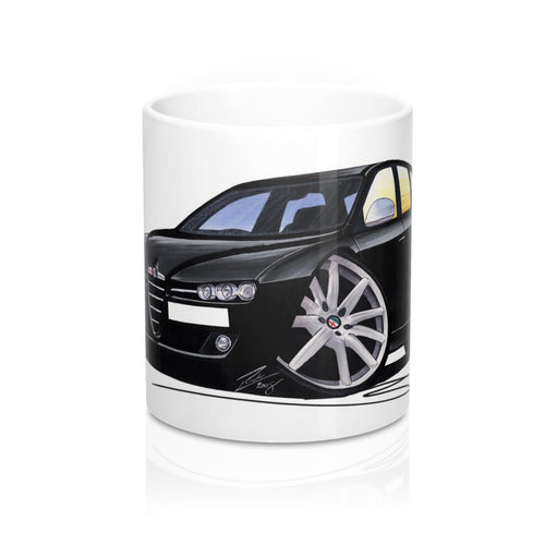 Alfa Romeo 159 Sportwagon - Caricature Car Art Coffee Mug