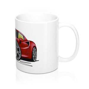 Alfa Romeo 4C - Caricature Car Art Coffee Mug