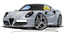 Load image into Gallery viewer, Alfa Romeo 4C - Caricature Car Art Coffee Mug
