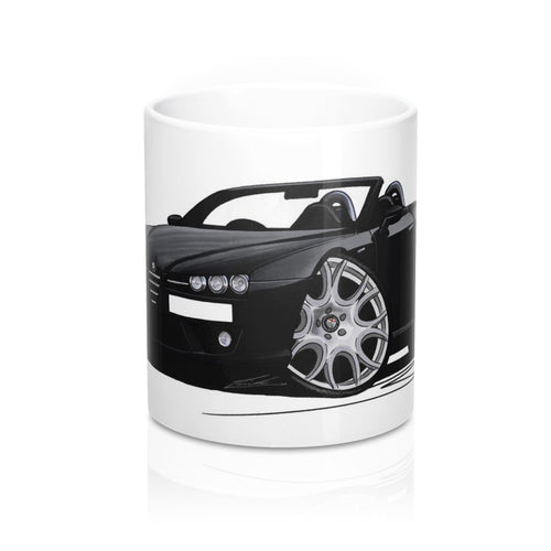 Alfa Romeo Brera Spider - Caricature Car Art Coffee Mug