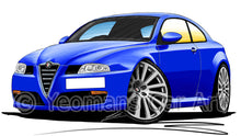 Load image into Gallery viewer, Alfa Romeo GT - Caricature Car Art Print