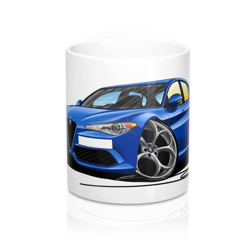 Alfa Romeo Giulia - Caricature Car Art Coffee Mug