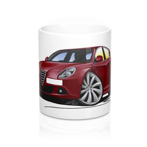 Alfa Romeo Giulietta - Caricature Car Art Coffee Mug