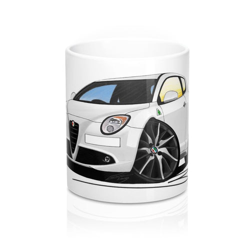 Alfa Romeo MiTo QV - Caricature Car Art Coffee Mug