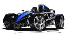 Load image into Gallery viewer, Ariel Atom - Caricature Car Art Print