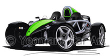Load image into Gallery viewer, Ariel Atom - Caricature Car Art Coffee Mug