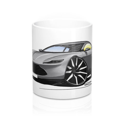 Aston Martin DB10 - Caricature Car Art Coffee Mug