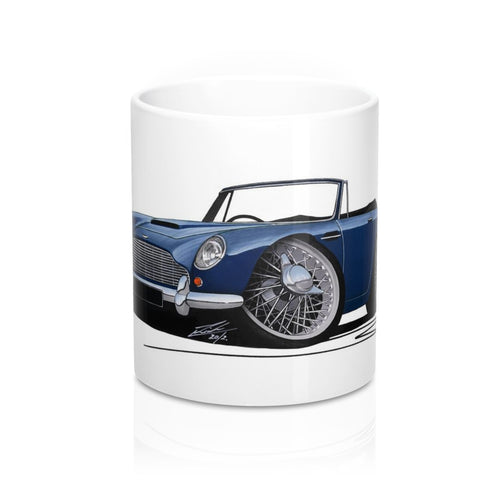Aston Martin DB5 Convertible - Caricature Car Art Coffee Mug