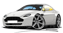 Load image into Gallery viewer, Aston Martin V8 Vantage - Caricature Car Art Print