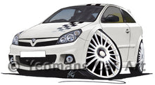 Load image into Gallery viewer, Vauxhall Astra (Mk5) VXR Nurburgring Edition - Caricature Car Art Print