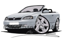 Load image into Gallery viewer, Vauxhall Astra (Mk4) Convertible - Caricature Car Art Coffee Mug