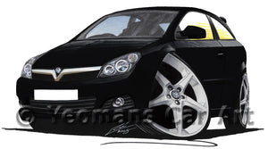 Vauxhall Astra (Mk5) SRi  - Caricature Car Art Print