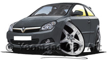 Load image into Gallery viewer, Vauxhall Astra (Mk5) SRi  - Caricature Car Art Print
