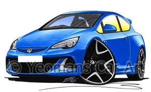 Vauxhall Astra (Mk6) VXR - Caricature Car Art Coffee Mug