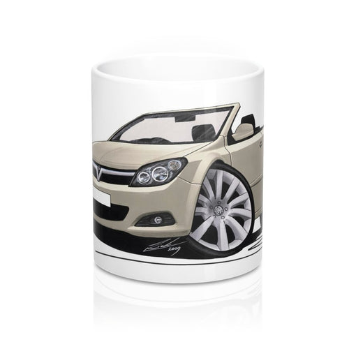 Vauxhall Astra (Mk5) Twin Top - Caricature Car Art Coffee Mug