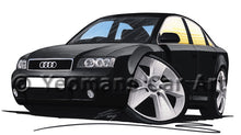 Load image into Gallery viewer, Audi A4 (B6) - Caricature Car Art Print