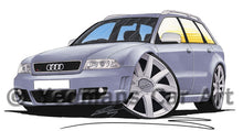 Load image into Gallery viewer, Audi RS4 (B5) Avant - Caricature Car Art Print