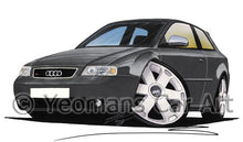 Load image into Gallery viewer, Audi S3 (Mk1) - Caricature Car Art Print